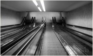 /A caminho das profundezas do Metro