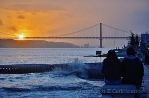 Paisagem Urbana/Amor ao pôr do sol