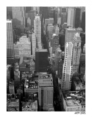 /Big Apple in B&W