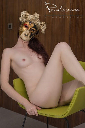 Nus/The lady with the Venice Mask