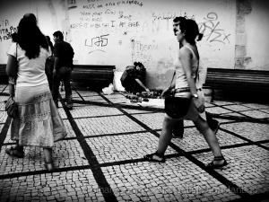 Gentes e Locais/Cenário de rua