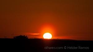 Paisagem Natural/O pôr do sol na Quinta do lago.