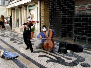 Gentes e Locais/Musica na rua.