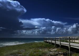 /Nuvens e mar