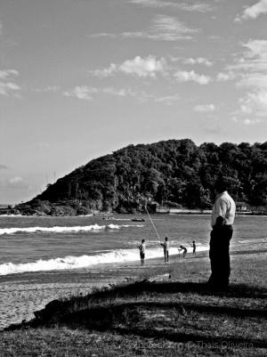 Gentes e Locais/Quisera eu ter os pés na areia...