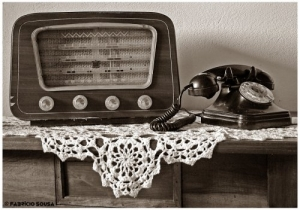 /rádio e telefone