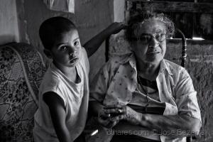 Retratos/Uma mãe com açúcar...
