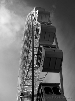 Paisagem Urbana/a roda gigante - 4