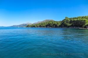 Paisagem Natural/Chegando à Ilha de Kolocep