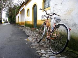 /Bicleta parada...