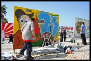 Fotojornalismo/25de ABRIL (Concurso GRAFFITIS 2006) NR. I