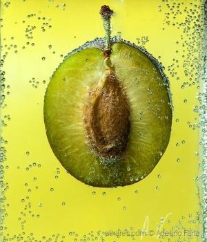 /A ameixa c/ sais de fruta