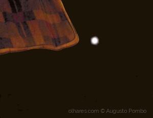 Abstrato/Superlua com cobertor :)