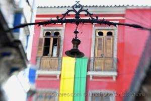 Paisagem Urbana/Candeeiro - Centro do Rio de Janeiro