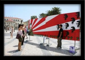 Fotojornalismo/25de ABRIL e José Afonso (Concurso GRAFFITIS 2006)