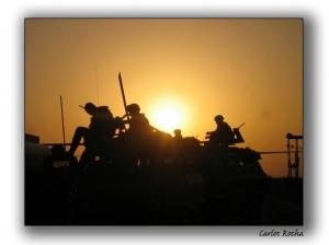 Fotojornalismo/Descanso do guerreiro...