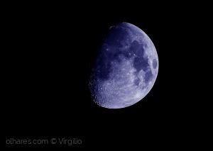 Paisagem Natural/Moments of the Moon at night