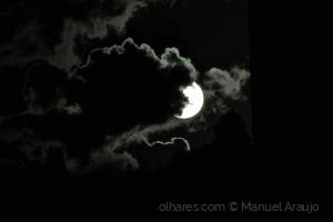 Paisagem Natural/Sol e nuvens...