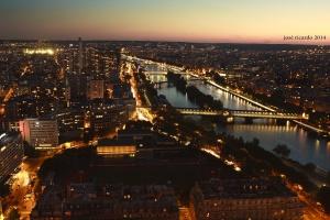 Paisagem Urbana/Paris dans la nuit