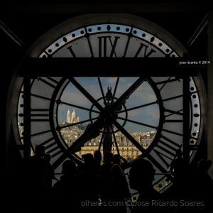 Paisagem Urbana/Sacré Coeur visto de Orsay - Paris