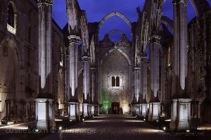 Paisagem Urbana/ruinas do convento do Carmo