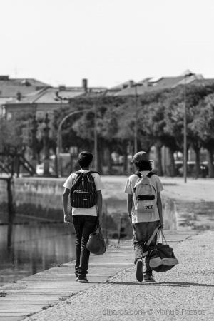 Paisagem Urbana/Caminhos paralelos