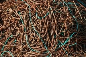 Paisagem Urbana/Emaranhado de cordas