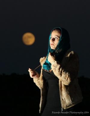 """Retratos/"""" No mundo da lua """""""