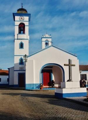 Paisagem Urbana/Outra perspectiva da Igreja e do Cruzeiro