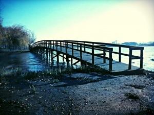 Paisagem Natural/Uma ponte, uma margem