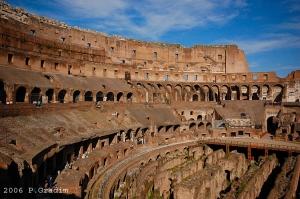 /Interior do Coliseu de Roma