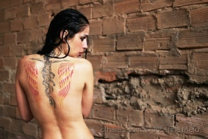 Retratos/the girl with the tattoo