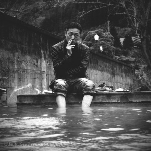 /Warm water and a cigarette...