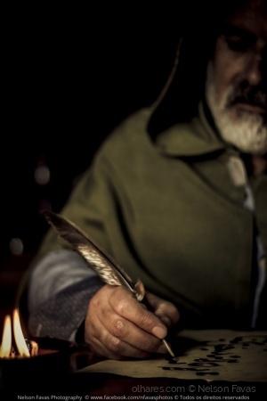 Retratos/Frei Bernardo, o escriba!