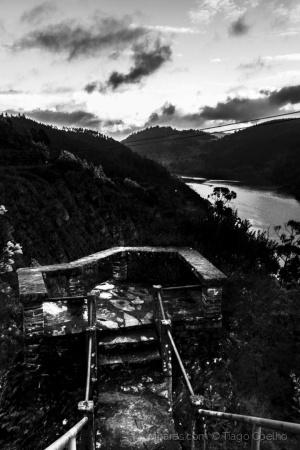 /Miradouro virado para o Douro.