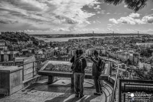 Paisagem Urbana/Panorama a B&W (Ler)