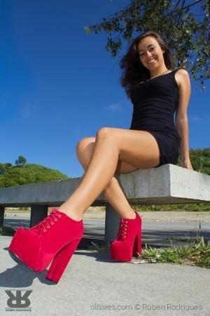 Moda/Modelo - Liliana Santos
