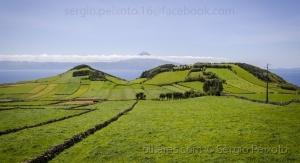 /Vista de São Jorge para o Pico