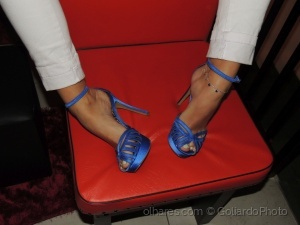 /Blue Sandal