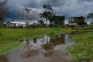Paisagem Natural/Rio Preto da Eva