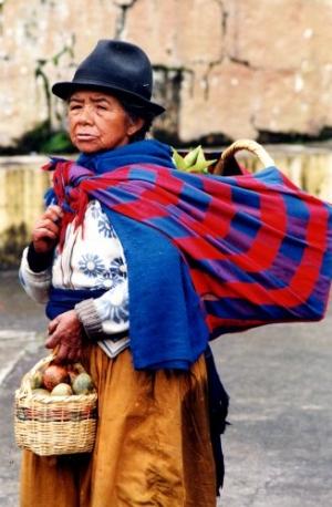 /Mulher do Equador