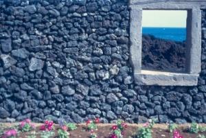 /Vista de mar e lava - Açores