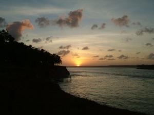 /Por do sol em Tibau do Sul