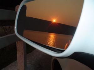 /Pôr do sol na Baia de Guanabara RJ