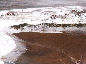 Paisagem Natural/Gelo No Paul da Serra