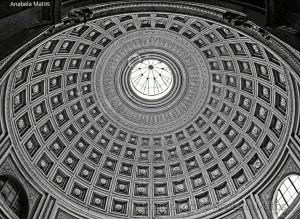 História/Abóbada do Panteão Romano
