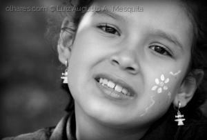 Retratos/''menina de brincos...''