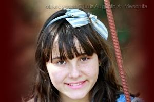 Retratos/''menina da fita azul...''