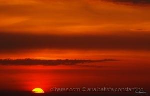 Paisagem Natural/Pôr do sol ...