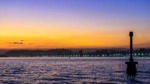 /Pôr do sol em Santos - 1